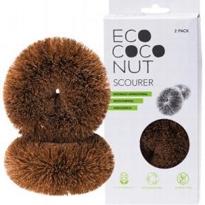 ecococonut scourer 2 pack