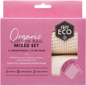 organic cotton bag mixed set