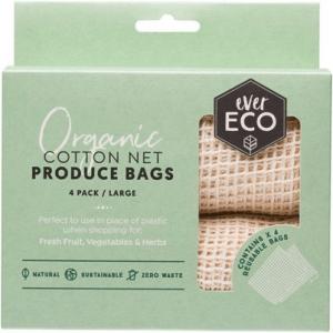 organic cotton net produce bags