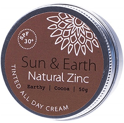 tinted all day cream spf 30+ dark