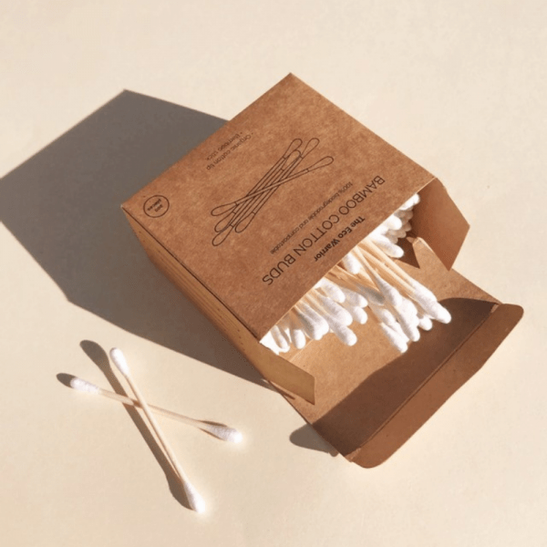The eco warrior bamboo cotton buds