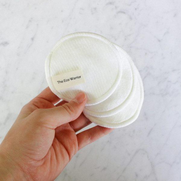 Reusable Bamboo Facial Pads - Neutral (10 Pack)