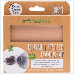 Little Mashies Reusable Stretch Silicone Food Wrap (XL 30 x 30 cm)
