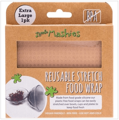 Little Mashies Reusable Stretch Silicone Food Wrap (XL 30 x 30 cm)