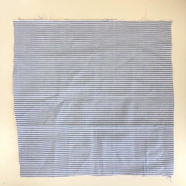 Reusable Stripy Blue Gift Wrap