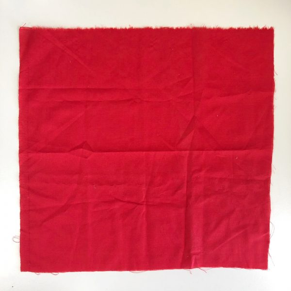 Reusable Red Gift Wrap