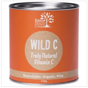 Eden Healthfoods Wild C Natural Vitamin C Powder 150g