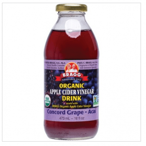 Apple Cider Vinegar Drink ACV With Grape & Acai 473ml