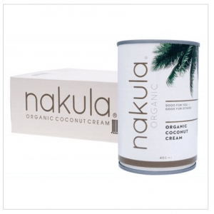 NAKULA Coconut Cream Carton Of 12 12x400g