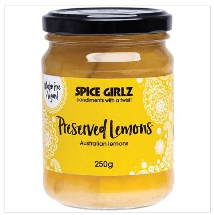 SPICE GIRLZ Preserved Lemons Australian Lemons 250g