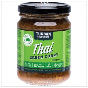 TURBAN CHOPSTICKS Curry Paste Thai Green Curry 240g