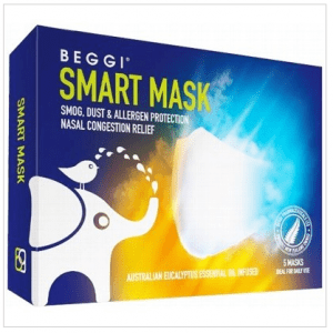 Smart Mask Infused With Eucalyptus Oil Box of 5
