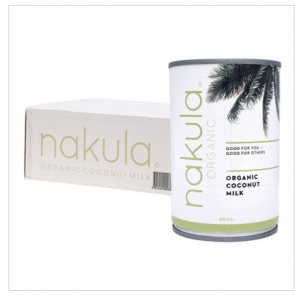 NAKULA Coconut Milk Carton Of 12 12x400g