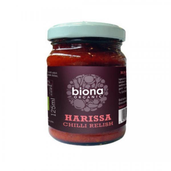 Biona Harissa Chilli Relish (Organic) ~ 125g