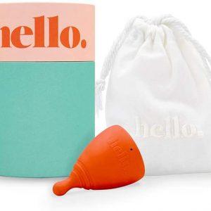 Hello Menstrual Cup Blush L