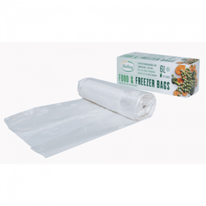 BioBag Compostable Freezer Bags 6L - 20 Bags