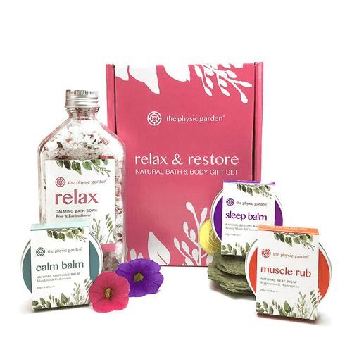 The Physic Garden Relax Soothing Skincare Collection