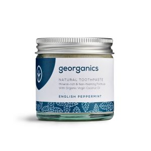 Georganics Natural Toothpaste – English Peppermint