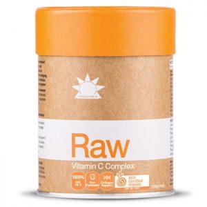 Amazonia Raw Vitamin C Passionfruit Flavour 120g