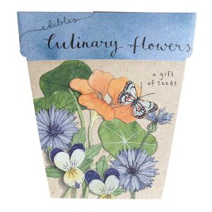SOW 'N SOW Gift Of Seeds Culinary Flowers