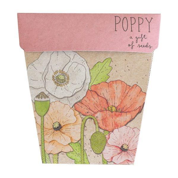 SOW 'N SOW Gift Of Seeds Poppy
