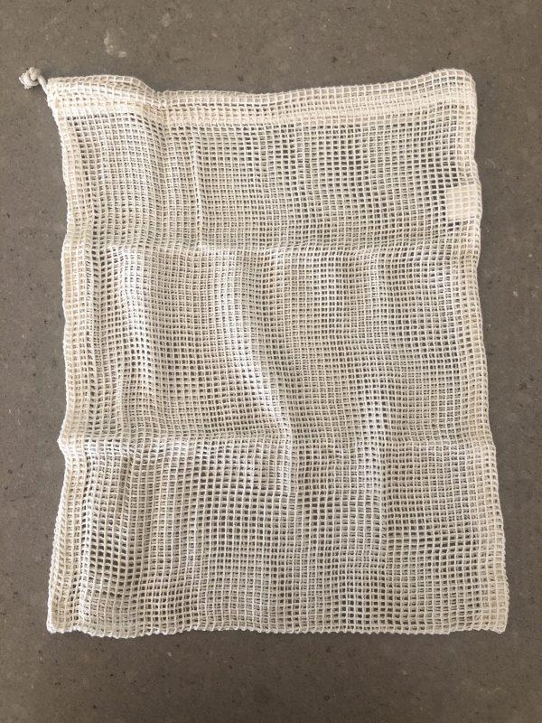 Organic Cotton Set Produce Bags (4 Pack)