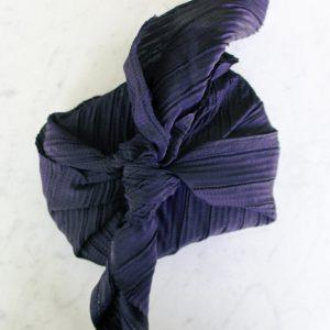 Reusable Navy Blue Gift Wrap