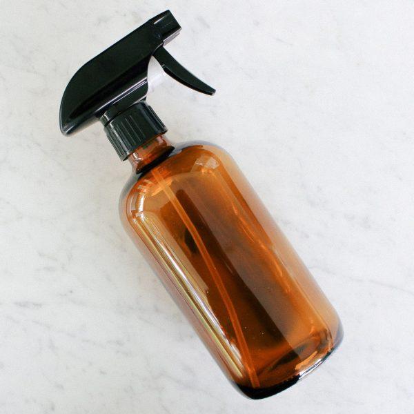 Refillable Amber Glass Spray Bottles