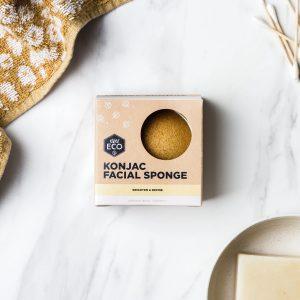 Ever Eco Konjac Facial Sponge - Turmeric