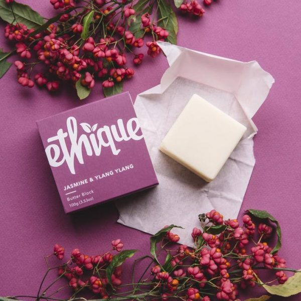 Ethique Body Butter Block Jasmine & Ylang Ylang 100g