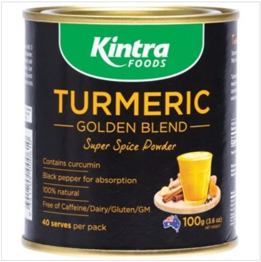 KINTRA FOODS Turmeric Golden Blend 100g